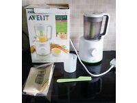 Philips Avent Baby food blender steamer 2 in 1