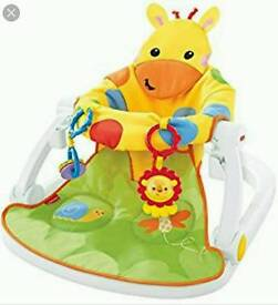 Fisher price sit me up giraffee chair
