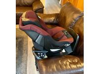 Jane Gravity ISOFix rotating car seat, Extended Rear and Forward facing, Group 1 and 0+