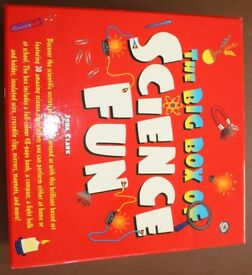 Science kit and book - The Big Box of Science Fun - age 8+