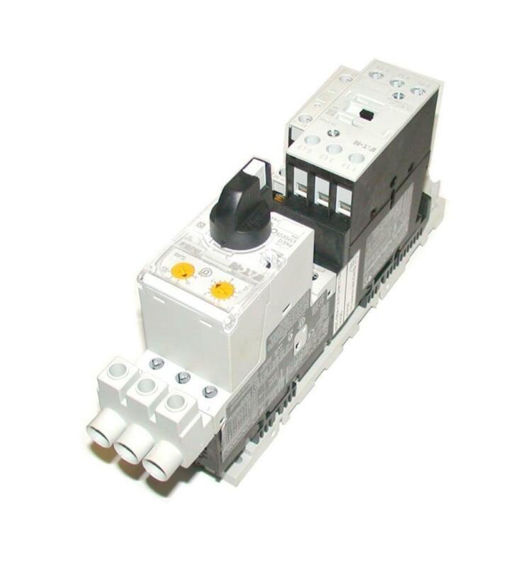 Eaton   DIL M17-01 XTCE018C01  PKE-XTUA-12 XTPEXTA012B   Motor Starter  Overload