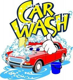 Car wash job worker required