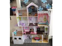 Grand Estate Doll House for sale