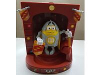 Collectable Sweet Dispenser (think gumballs). M&Ms Knight & Sword. Candy machine. Rare edition.