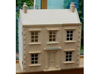 Wooden Fully Furnished Dolls' House