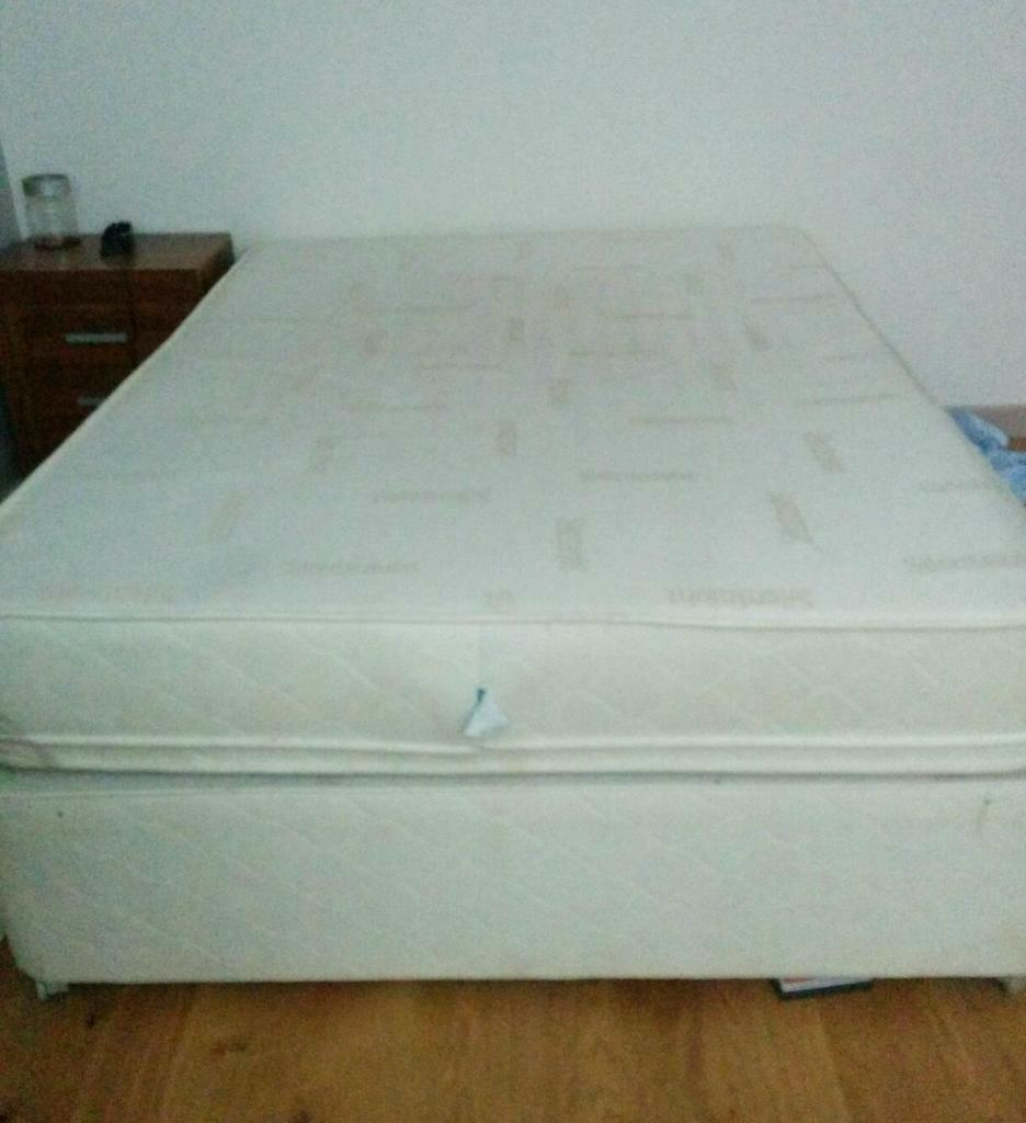 King size divan bed mattress in arnold for King size divan bed with mattress
