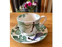 Emma Bridgewater Figs Cups and Saucer