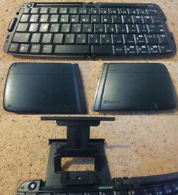 Fold-out Bluetooth keyboard