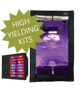 LED GROW LIGHT KIT [2x3, 2x4, 3x3, 4x4]