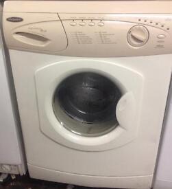 Beige Hotpoint Washing machine