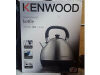Kenwood SKM100 Traditional Kettle in Brushed Stainless Steel 1.6L