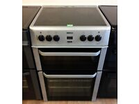 Beko Silver 60cm Fan Assisted ELECTRIC COOKER