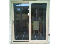 Upvc Cream Sliding Patio Doors