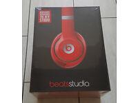 Beats by Dr Dre Studio 2.0 Wired Headphones Earphones + Receipt