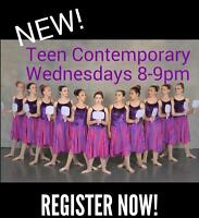 NEW! Contemporary Dance Class for Beginners!