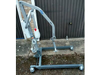Ex demo 7 months old Invacare Birdie 180 compact electric folding disabled patient hoist