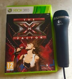 The X Factor- With Microphone (Xbox 360)