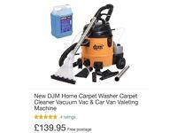 Carpet cleaner 2 in 1