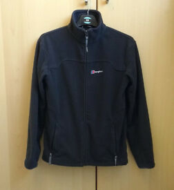 Berghaus Black Zip Up Fleece 13 158-161 Small Excellent condition £10