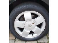 """Wanted""RENAULT CLIO ALLOY WHEEL 4 STUD.185X55X15"