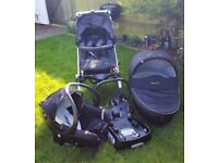 3-in-1 Strollers and Travel system