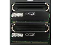OCZ PC2 9200 Memory 2 GB