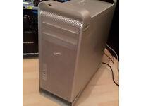 Mac Pro 2006, Mac OS X 10.7 Lion, quad core(2xDual Core CPUs), 8GB RAM, 250GB
