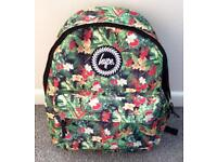'Hype' exotic jungle print unisex rucksack