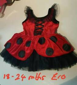 18-24 mths ladybug costume