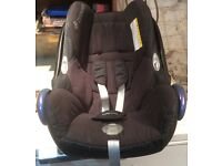 Used small child's car seat