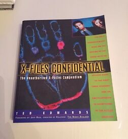 X Files books - will sell individually or as a job lot