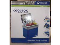 Outwell coolbox 12v 230v 24 litre