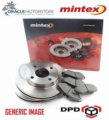 NEW MINTEX REAR 253MM BRAKE DISCS AND PAD SET KIT GENUINE OE QUALITY MDK0184 Change Rear Disc Brakes