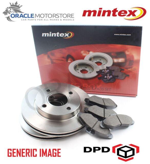 NEW MINTEX FRONT 256MM BRAKE DISCS AND PAD SET KIT GENUINE OE QUALITY MDK0114
