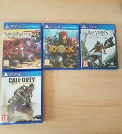 Pack 16 ps4 games