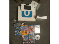 Nintendo Wii U (Boxed) Super Mario Bros U, Mario Kart, Mario Maker, Super Smash Bros + more