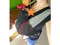 Caboo close DX baby carrier