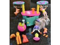 Polly Pocket Dazzling Pet Show Trapeze