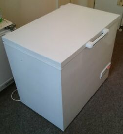 In Bideford A 161 litre Capacity Hotpoint Energy 'A' Rated 4 Star Chest Freezer.