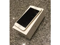 iPhone 6 plus in gold 64GB unlocked comes with original box