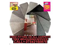 TOP QUALITY CARPETS !!! AT AFFORDABLE PRICES WITH FREE FITTING INCLUDED!!!
