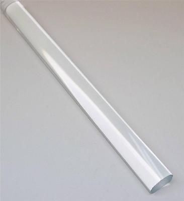 Clear Acrylic Plexiglass Extruded Rod 1 Diameter X 2 Ft Transparent 1 Piece