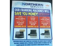 Franking machine