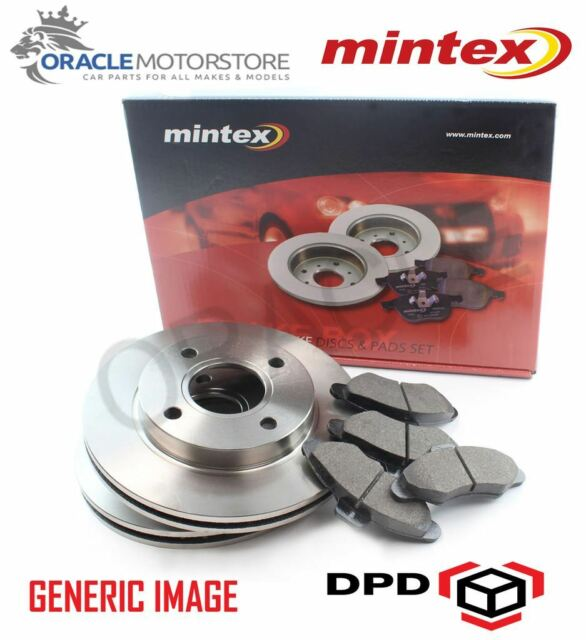 NEW MINTEX FRONT 259MM BRAKE DISCS AND PAD SET KIT GENUINE OE QUALITY MDK0190