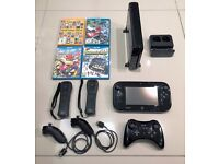 Nintendo Wii U Mario Kart 8 Premium Pack 32GB (+ Games and Accessories Bundle)