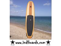 BRAND NEW STAND UP PADDLE BOARD (HARD BOARD) 10'6 & 11'6 ORANGE RAIL WITH BAG, LEASH & PADDLE