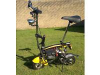 Orwin 24V e-scooter e-bike compact city mini electric funbike