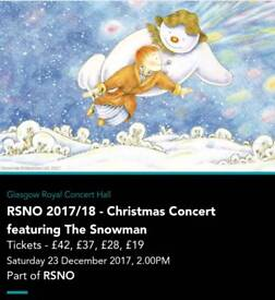 RSNO 2017/18 - Christmas Concert featuring The Snowman