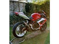 Suzuki GSXR 600 K7 2007 Trackbike PX/Swap for R6