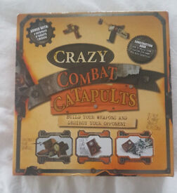 Missile Building Toy Catapult Educational Crafts Construction Set